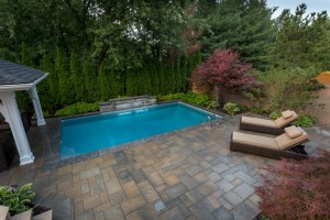 Pavestone pool patio