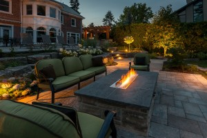 Contemporary firepit