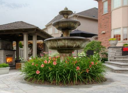 Formal Tiered Fountain